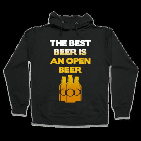 Open Beer Hooded Sweatshirt