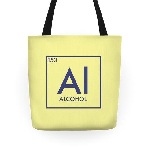 Alcohol Periodic Element Tote