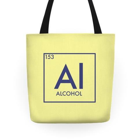 Alcohol Periodic Element Tote