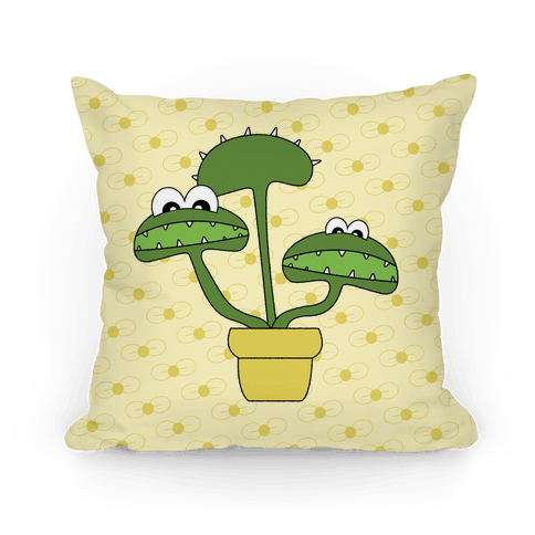 Venus Fly Trap Pillow