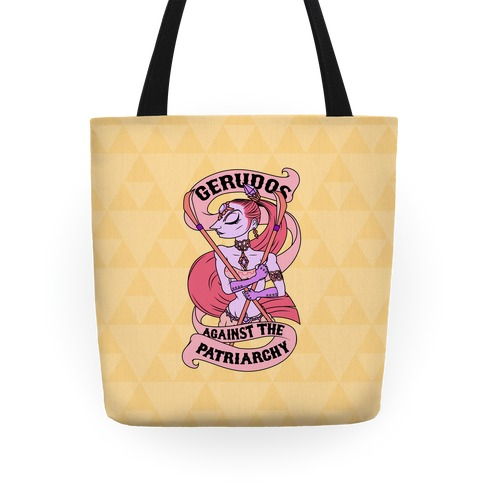 Gerudo Against The Patriarchy Tote