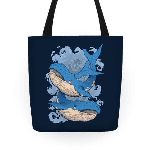 Humpback Whales Tote