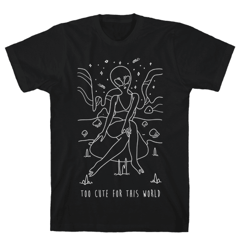 Too Cute For This World Mens T-Shirt