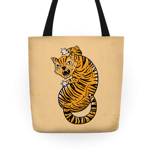 The Ferocious Tiger Tote