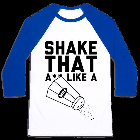 Shake It Baseball Tee