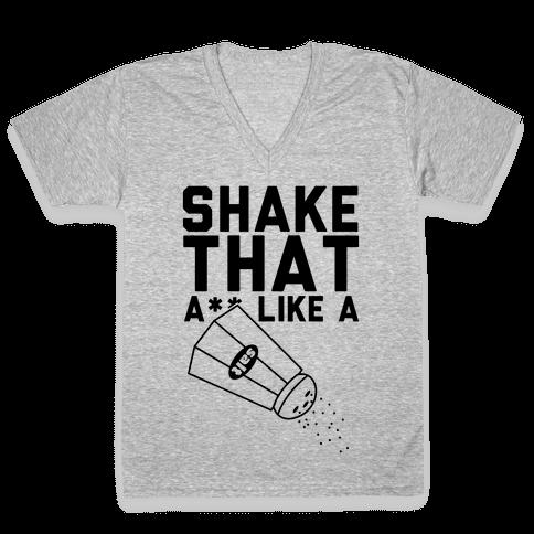 Shake It V-Neck Tee Shirt