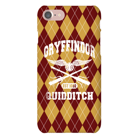 Gryffindor Quidditch Phone Case