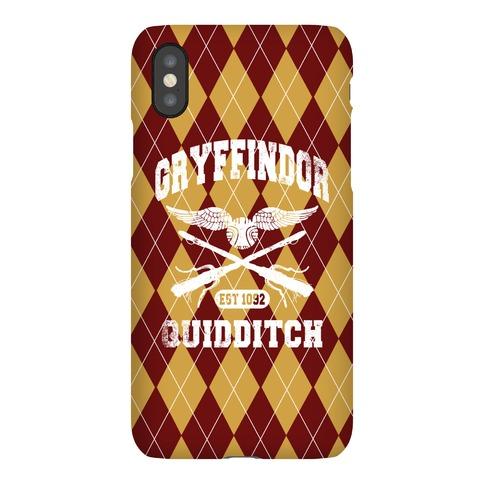 Gryffindor Quidditch Phone Case