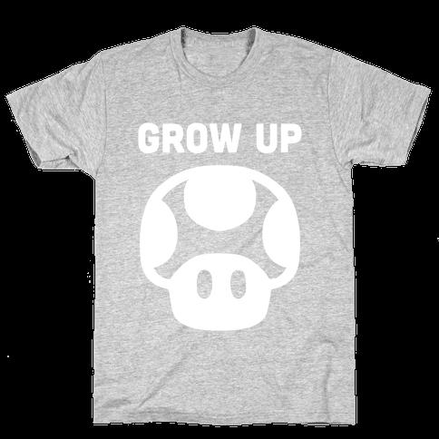 Red Mushroom (Grow Up)