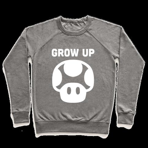 Red Mushroom (Grow Up) Pullover