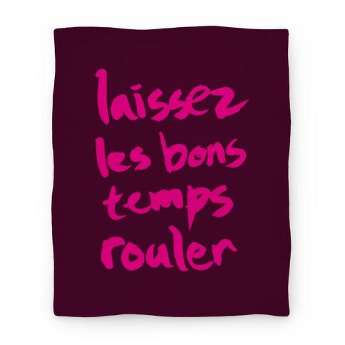 Laissez Les Bons Temps Rouler Blanket