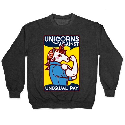Unicorns Against Unequal Pay Pullover