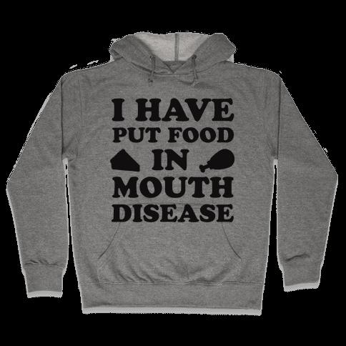Put Food In Mouth Tank Hooded Sweatshirt