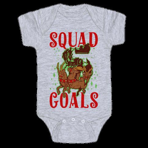 Squad Goals Baby Onesy