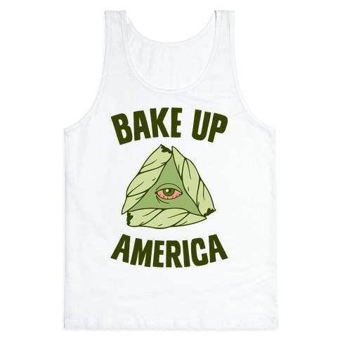 Bake Up America Tank Top