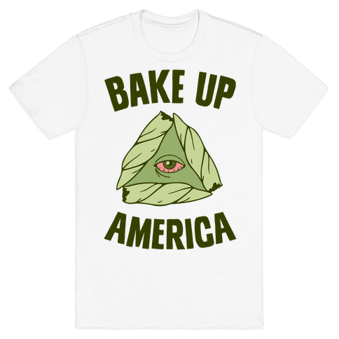 Bake Up America Mens T-Shirt