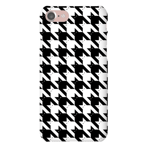 Catstooth Pattern Phone Case