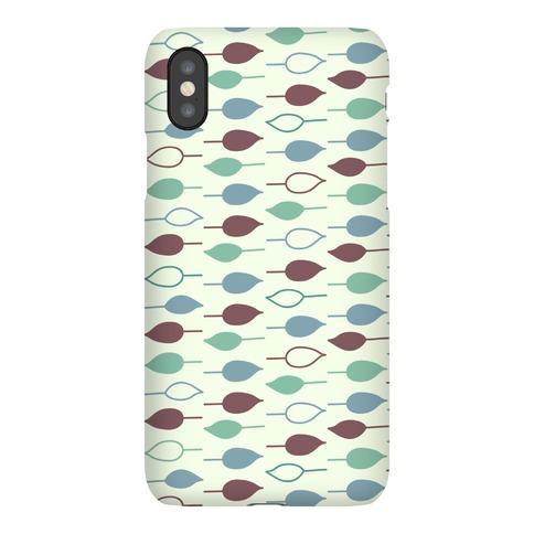 Leaf Pattern Case (Green) Phone Case