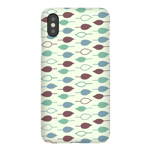 Leaf Pattern Case (Green) Phone Case