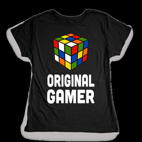 Original Gamer Womens T-Shirt