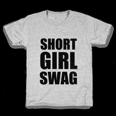 Short Girl Swag (vintage) Kids T-Shirt