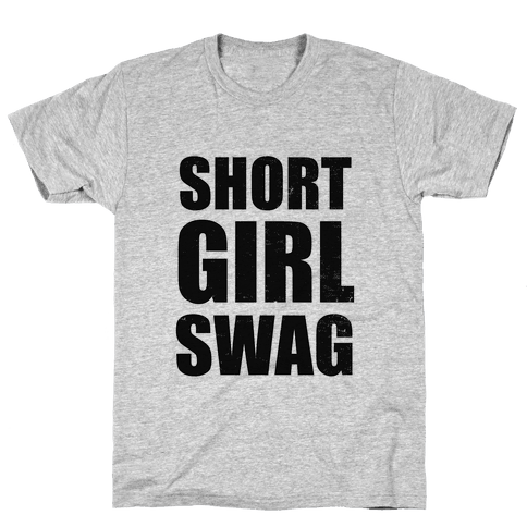 Short Girl Swag (vintage) Mens T-Shirt