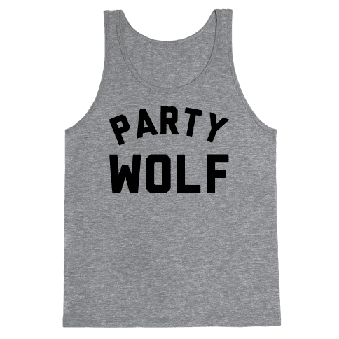 Party Wolf Tank Top