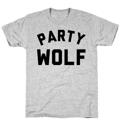 Party Wolf Mens T-Shirt