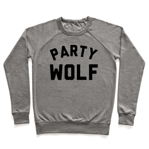 Party Wolf Pullover