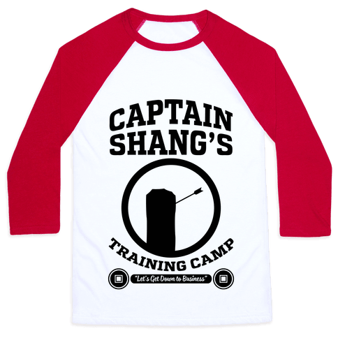Captain Shang's Training Camp Baseball Tee