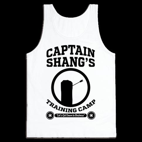 Captain Shang's Training Camp Tank Top
