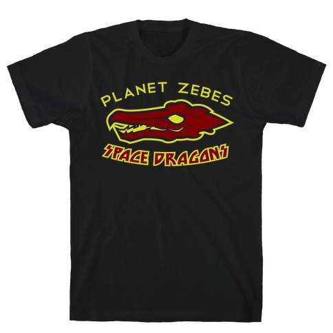 Space Dragons Mens T-Shirt