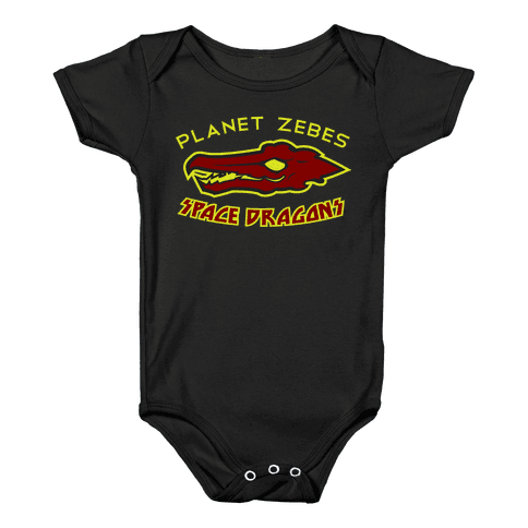 Space Dragons Baby Onesy