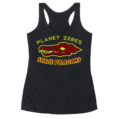 Space Dragons Racerback Tank Top