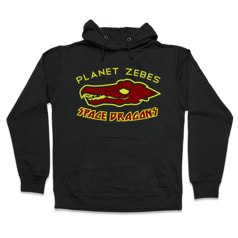 Space Dragons Hooded Sweatshirt