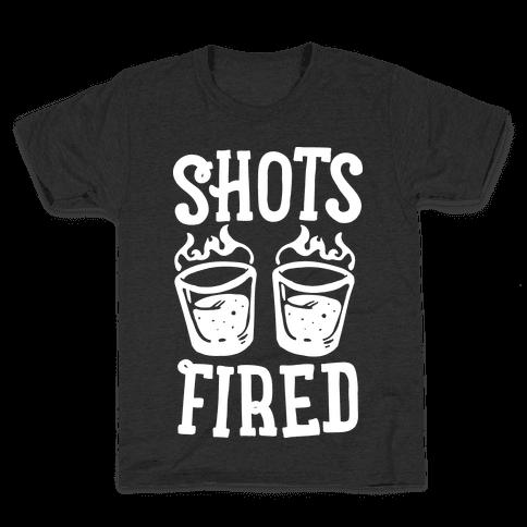 Shots Fired Kids T-Shirt