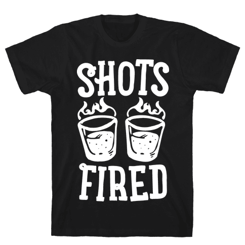 Shots Fired Mens/Unisex T-Shirt