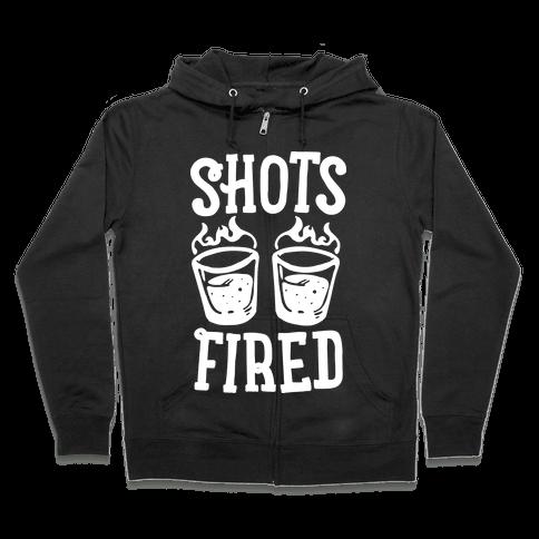 Shots Fired Zip Hoodie