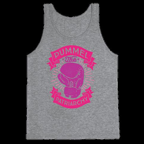 Pummel The Patriarchy Tank Top