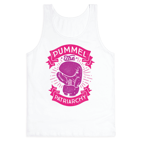 Pummel The Patriarchy Tank Top
