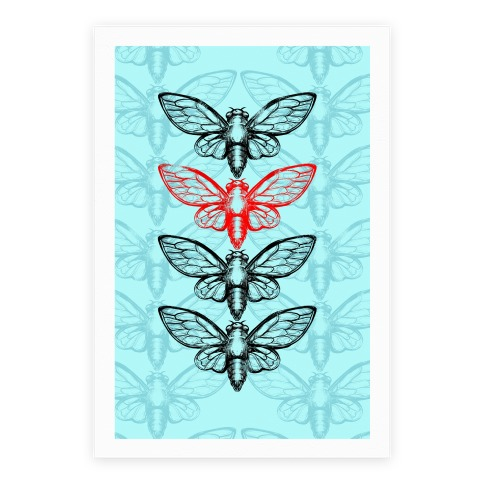 4 Cicadas Poster