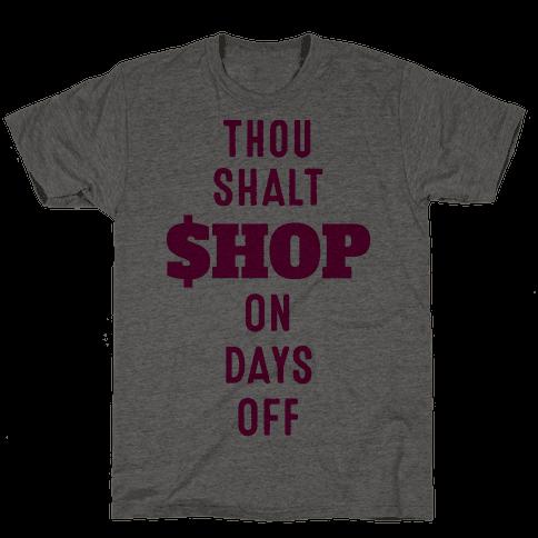 Thou Shalt Shop on Days Off