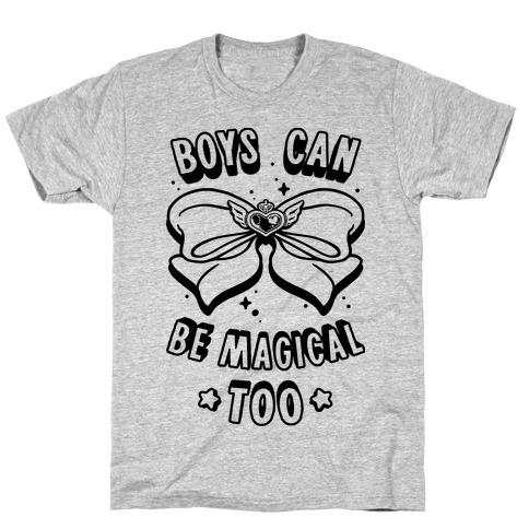 Boys Can Be Magical Too T-Shirt