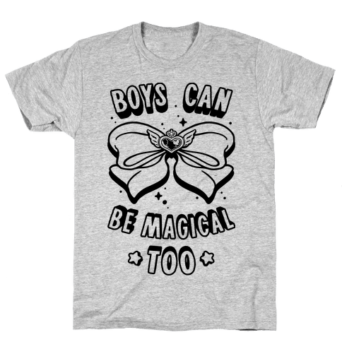 Boys Can Be Magical Too Mens T-Shirt