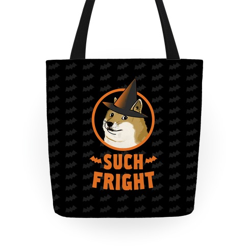 Doge: Such Fright! Tote