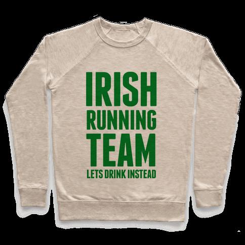 Irish Running Team Pullover