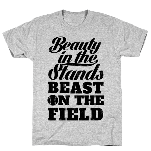 Beauty in the Stands Beast On The Field (Vintage) Mens T-Shirt