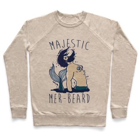 Majestic Mer-Beard Pullover
