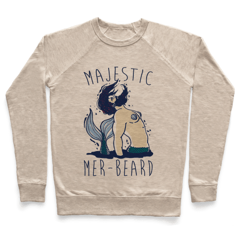 Majestic Mer-Beard Pullover