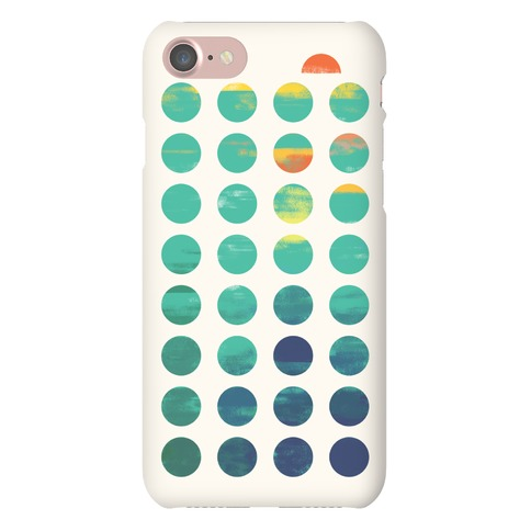 Circles of Summer Phone Case